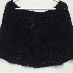 GAP Shawl Wrap Scarf Women's Black One Size